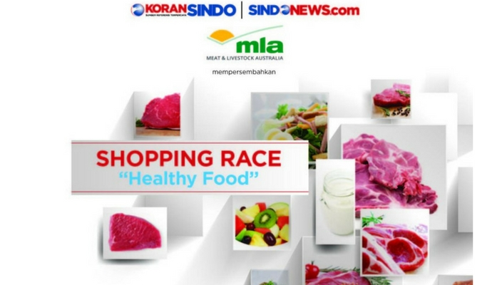 SHOPPING RACE HEALTHY FOOD